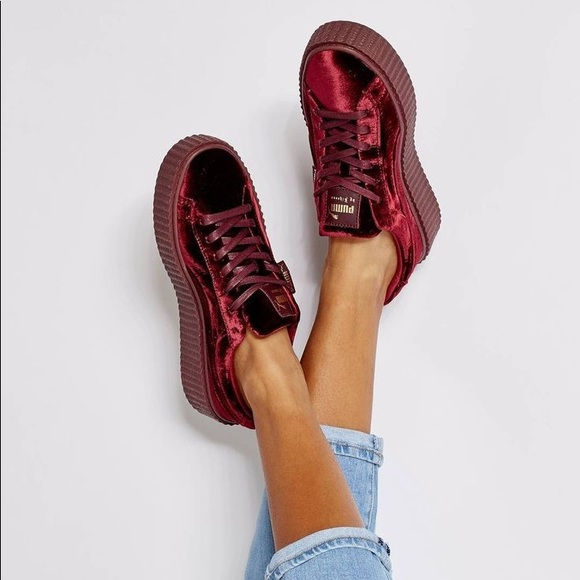 wholesale dealer 107e6 527bf Fenty Puma Velvet Creepers (Limited Edition)